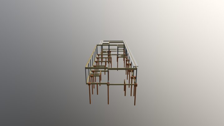 3D Estrutural 3D Model