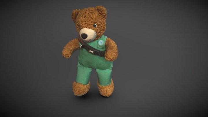 Pupper's Teddy 3D Model