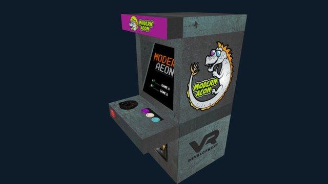 Modern Aeon Arcade Cabinet 3D Model