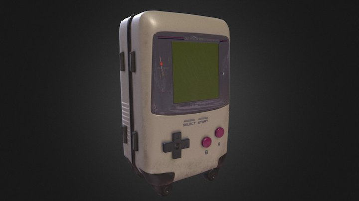 The GameBox 3D Model