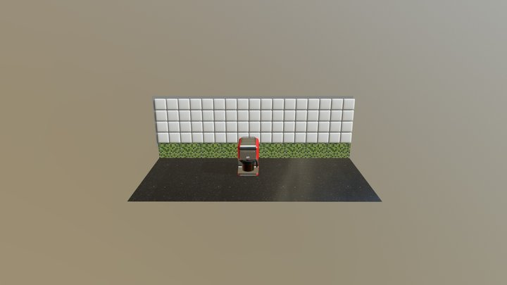 Kenwood Coffee Maker 3D Model