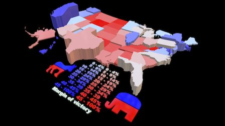 20 shades of election 3D Model