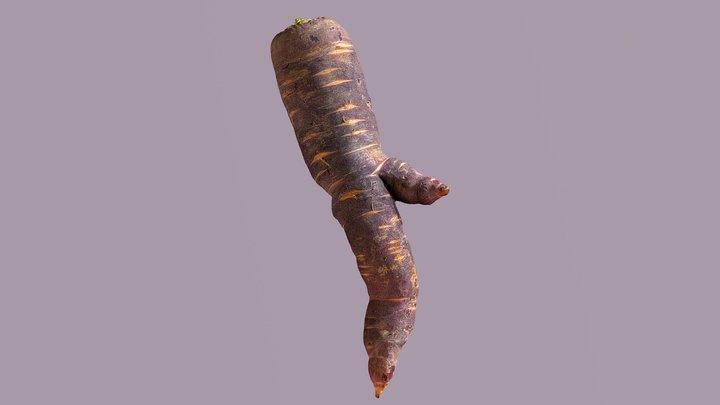 Mandrake Carrot 4 3D Model