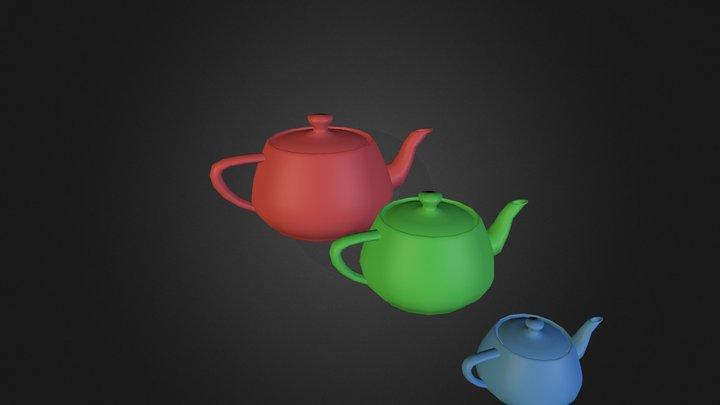 teapot test 3D Model