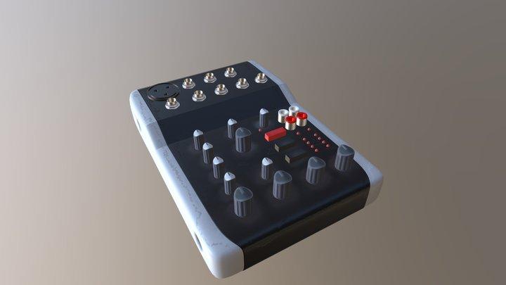 Audio Interface 3D Model