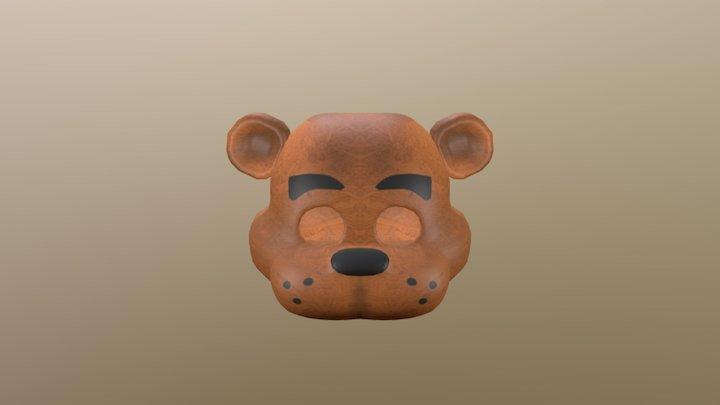 Freddy Fazbear Mask 3D Model