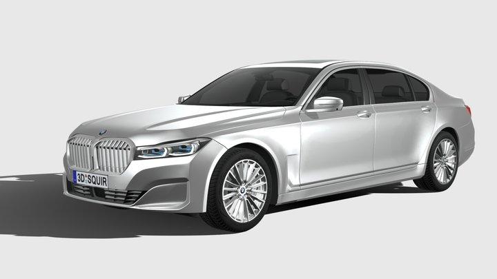 BMW 7-series G12 long 2020 3D Model