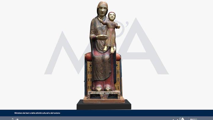 Madonna delle Concanelle 3D Model