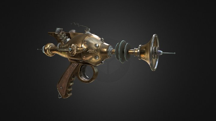 Atomic Death Ray 3D Model