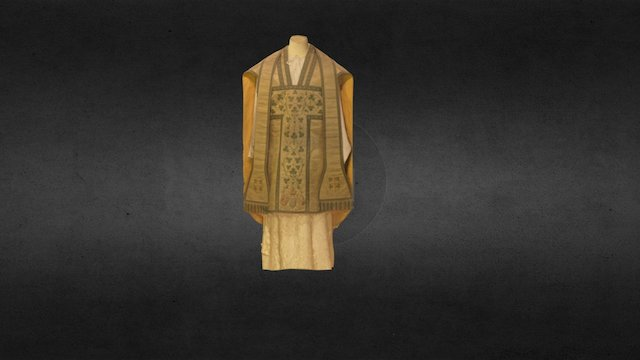 The Empress of Austria Vestments 3D Model