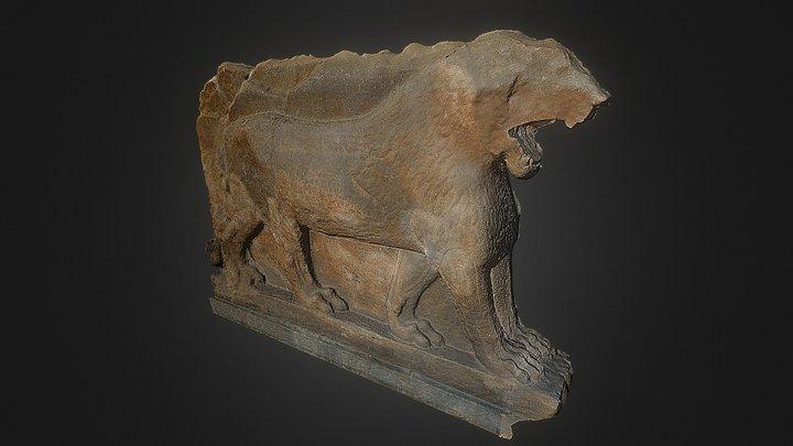 Mosul lion 3D Model