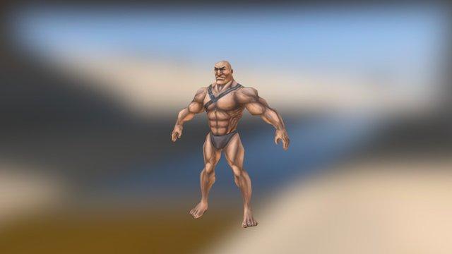 Barbarian Base 3D Model