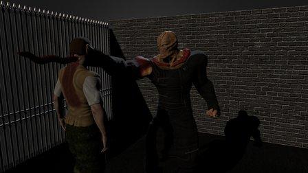 Brad´s death 3D Model