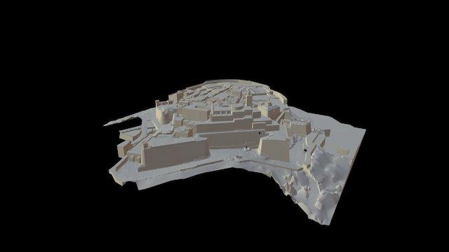 Citadel  of  Gozo in Malta 3D Model