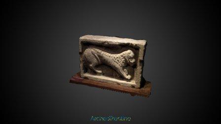 Castello del Buonconsiglio, Simbolo Evangelista 3D Model