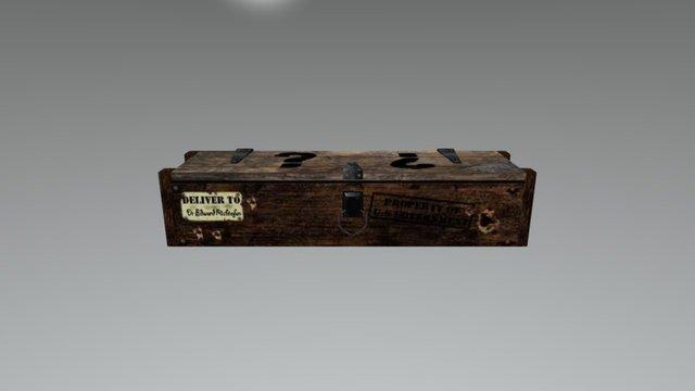 Mystery Box CoD 3D Model