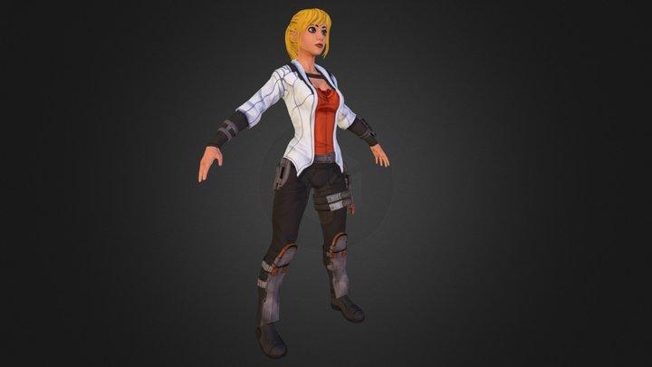 Amber 3D Model
