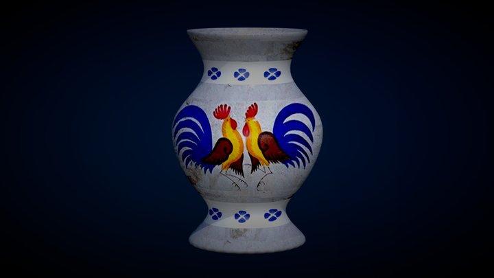 Vaso texturizzato 3D Model