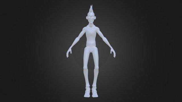 Punk (WIP) 3D Model