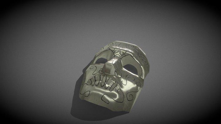 Death Eater Mask 3D Model