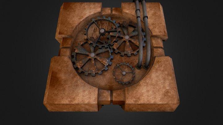 Steamcube 3D Model
