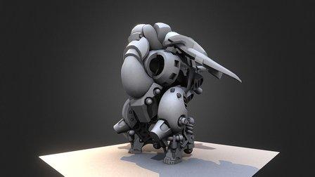 Mech_WIP 3D Model