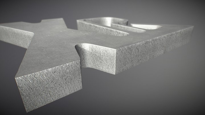 XPR300 aluminum cut sample