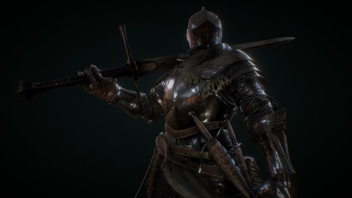 Dark souls 3 - Drifter Knight 3D Model