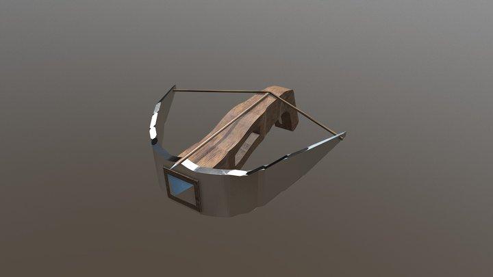 Light Crossbow Not Finished 3D Model