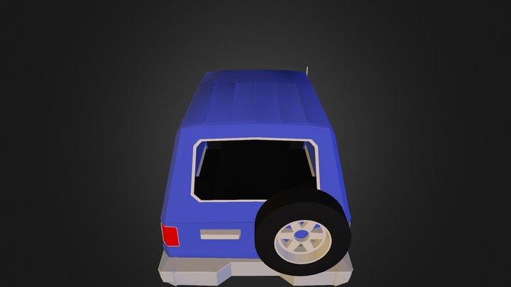 4x4 3D Model