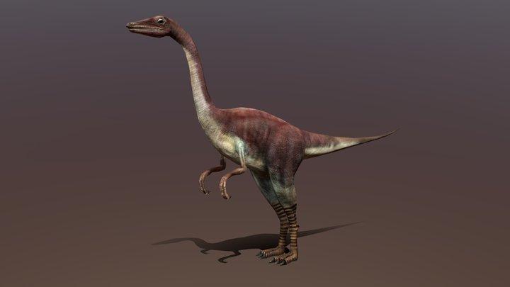 3DRT Dinosaurs - Compsognathus 3D Model