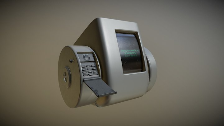 "Videophone from ""Total Recall"" 1990 3D Model"