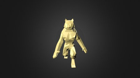 Tiger Animaiton Display 3D Model