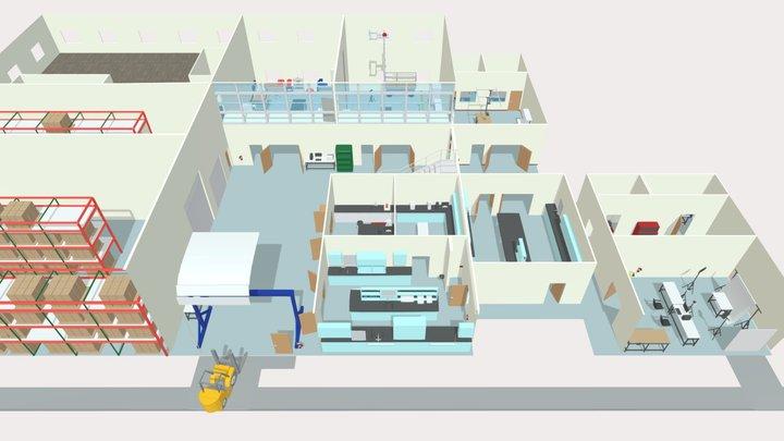 RTI Inspection Laboratories 3D Model