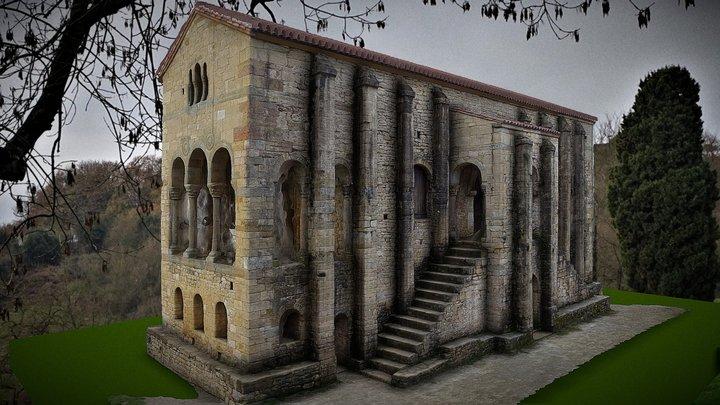 Santa María del Naranco, Oviedo 3D Model