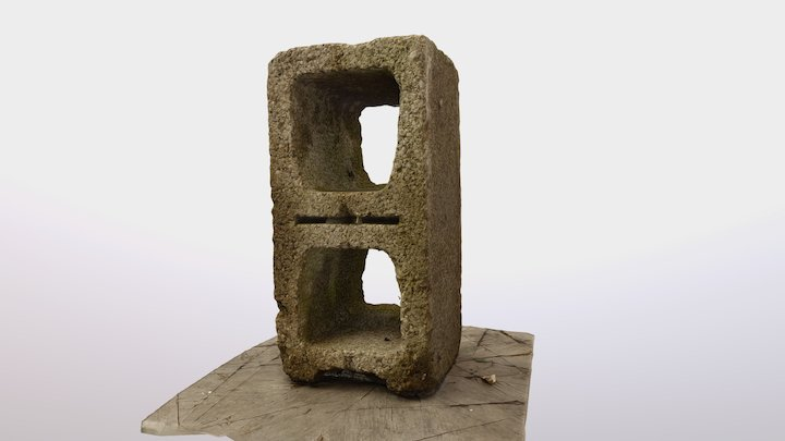 CONCRETE BLOCK 3D Model