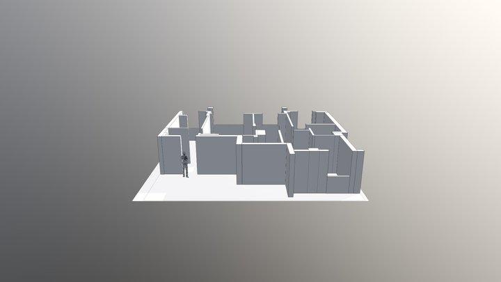 HF Test Casa 3D Model