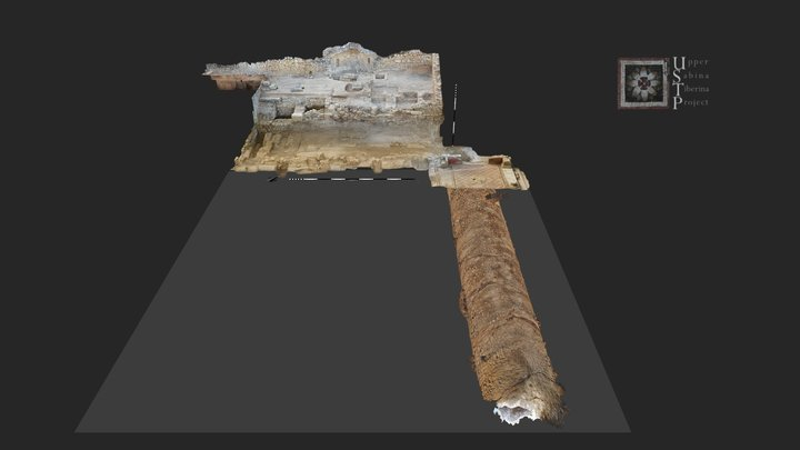 Eastern Porticus & Cryptoporticus 3D Model