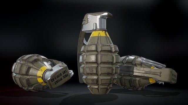 Free Grenade Tutorial 3D Model