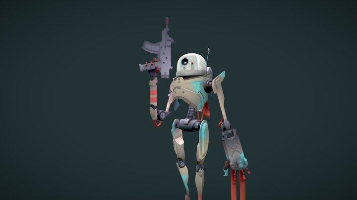 Ultimate Battle Droid 3D Model