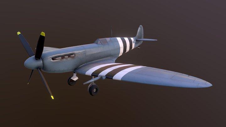 Hobbyist Spitfire 3D Model