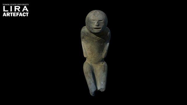 """Stone sculpture """"The Supplicant"""" // «Молящий» 3D Model"""