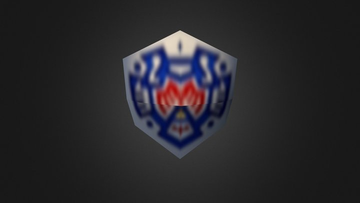 Hero's Shield 3D Model