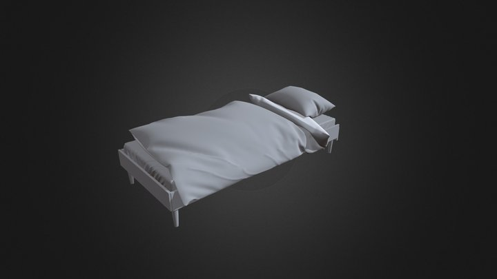 Letto Bed 3D Model
