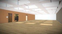 Design Museum Huth Gallery 3d model 3D Model