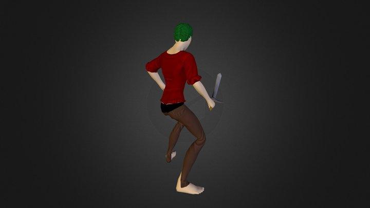 Character Test Color 3D Model