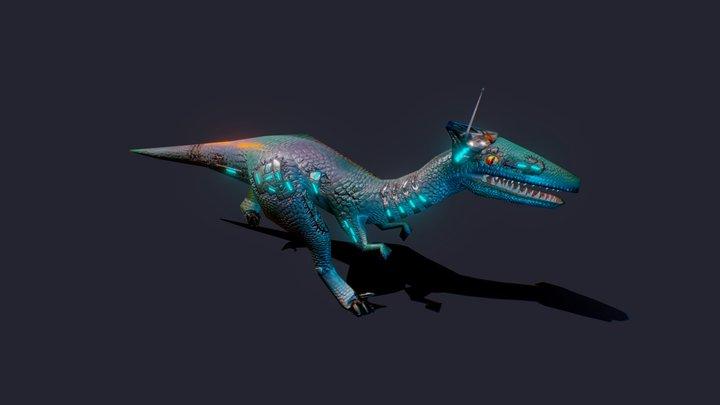 WiFi Raptor 3D Model