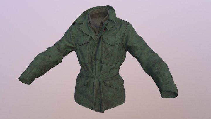 M43 Jacket 3D Model