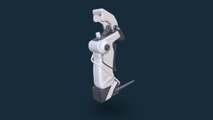 First high poly 3D Model