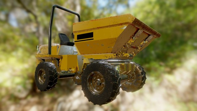Dumper 3D Model